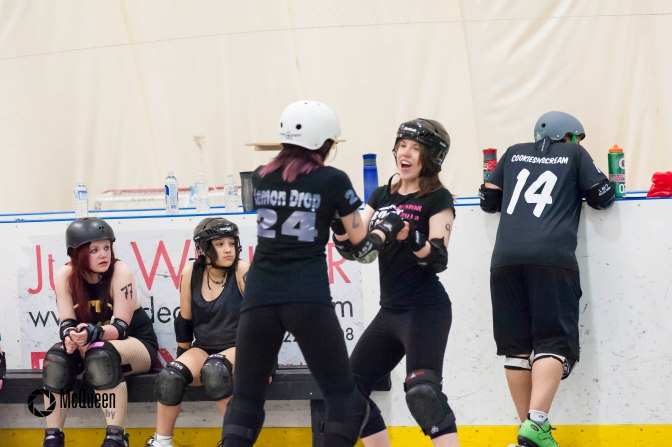 "From Guest Blogger Wild Rose All Star White Poison ""You will never, ever, ever play roller derby"""